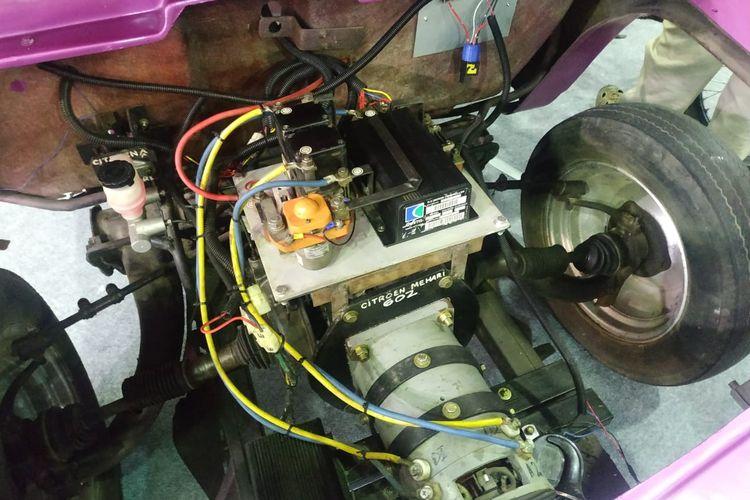 Citroen Mehari berjantung motor listrik