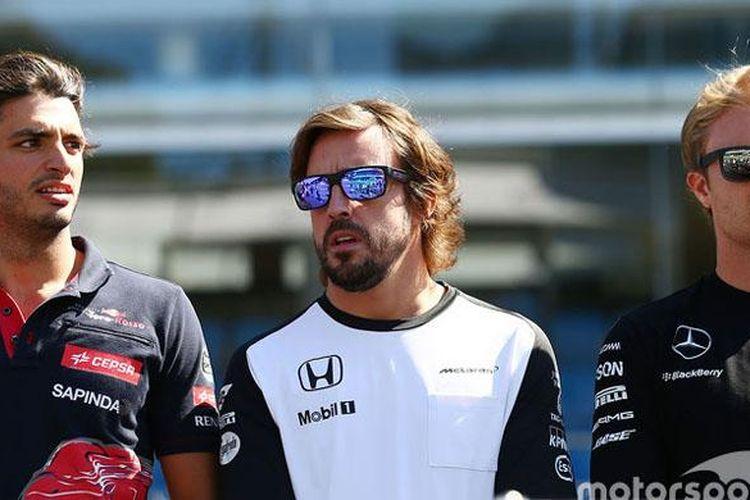Rosberg Dukung Alonso Menjadi Penggantinya di Tim Mercy