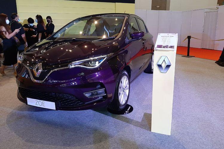Renault Zoe resmi diperkenalkan di ajang Indonesia International Motor Show (IIMS) Hybrid 2021