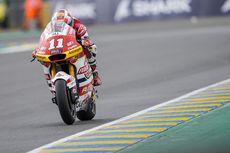 Pebalap Federal Oil Gresini Moto2 Pede Libas Trek Basah di Le Mans