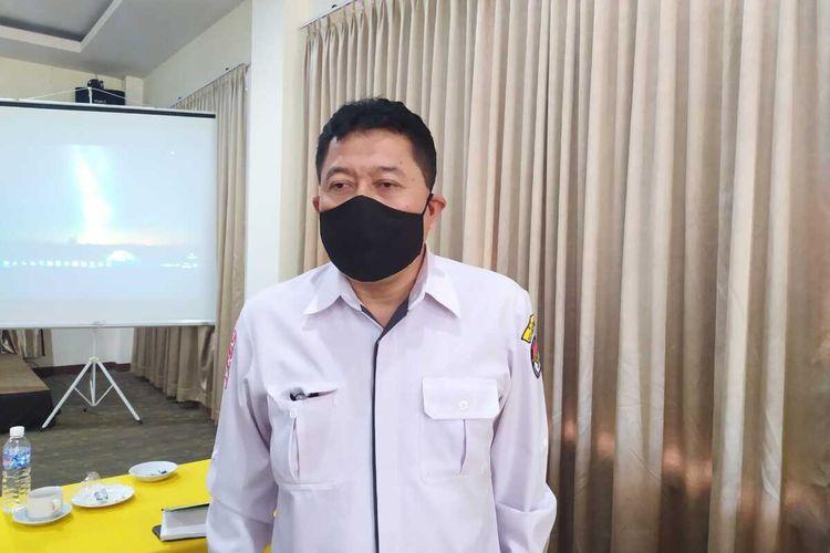 Ketua KPU Kota Magelang Basmar Perianto Amron.