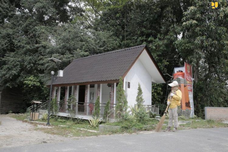 Penataan Kampung Ulos Huta Raja dan Huta Siallagan di Kabupaten Samosir.