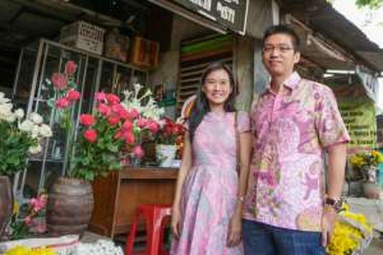 Pasangan suami-istri pendiri Meme Florist, Hero Wijayadi dan Mariani