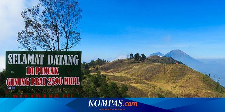 Catat Gunung Prau Ditutup Bagi Pendaki Sampai April 2020