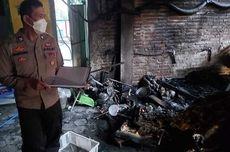 Pabrik Terbakar Gara-gara Kulkas Korslet, Bos Krupuk di Ponorogo Rugi Rp 50 Juta