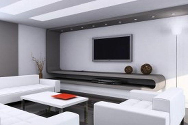 Selain menambah tampilan visual interior lebih estetik, plafon gipsum juga dapat memberikan deteksi dini jika ada rembesan air.