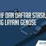 INFOGRAFIK: Tarif dan Daftar Stasiun yang Layani GeNose