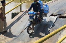 Bupati Ogan Ilir Minta Dinas PUPR Perbaiki Jembatan Amblas dalam 10 Hari