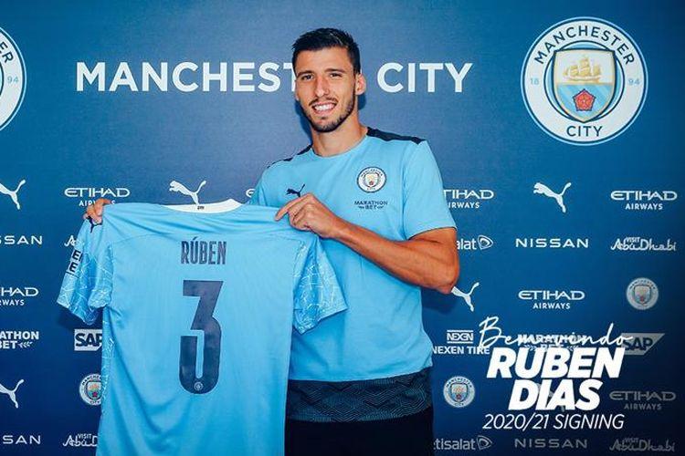 Pemain baru Man City, Ruben Dias