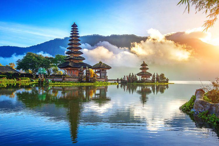 ilustrasi Pulau Bali