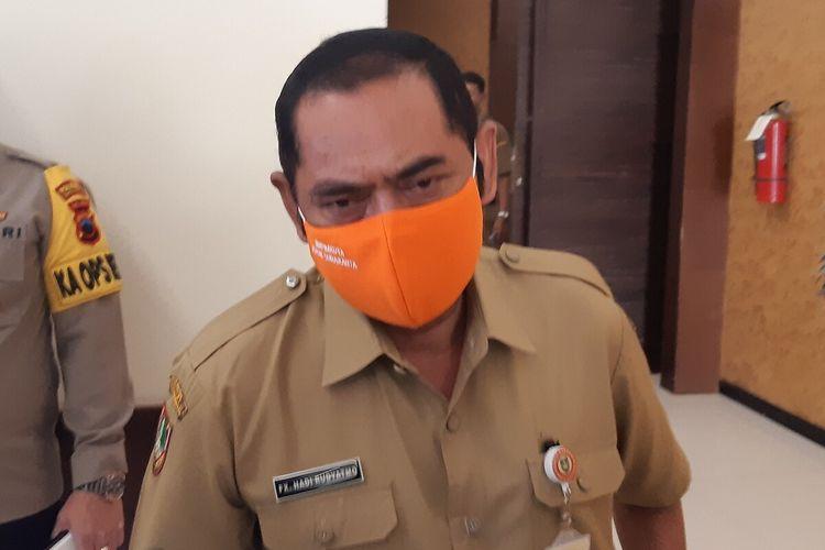 Wali Kota Solo, FX Hadi Rudyatmo di Solo, Jawa Tengah, Senin (21/9/2020).