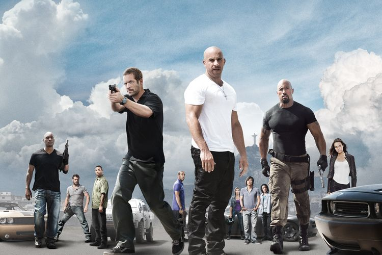 Poster Film Fast Five (2011)