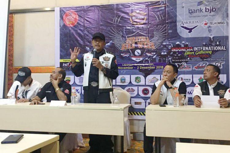 HDCI siap gelar Sumatera Bike Week 2018