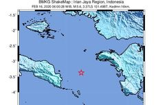 Gempa Seram Timur dan Fakfak Pagi Tadi Dipicu Sesar Aktif Dasar Laut