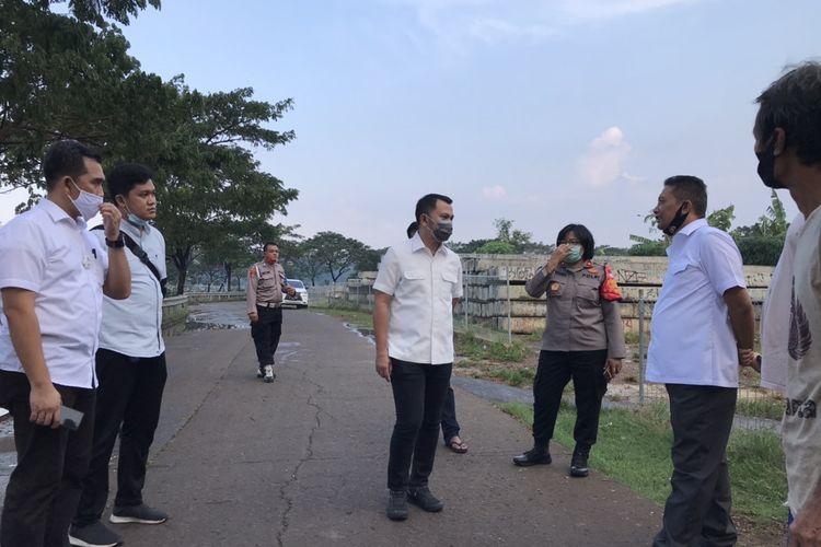 Polisi kembali melakukan olah Tempat Kejadian Perkara (TKP) terkait kasus kematian editor Metro TV Yodi Prabowo, Senin (20/7/2020) sore sekitar pukul 15.00 WIB.