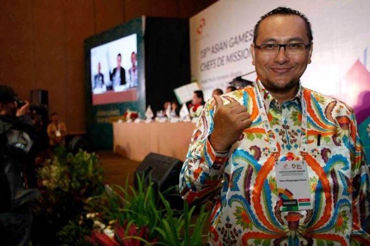 Harry Warganegara, Komite Eksekuif  bidang Sports Development KOI