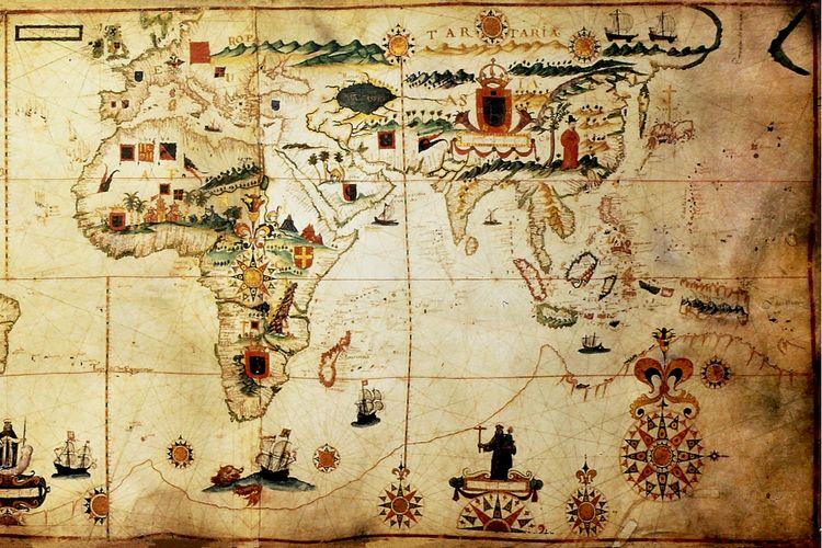 Ilustrasi kolonialisme dan imperialisme.