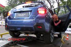 """""""Menggantung"""" Ban dalam Subaru AWD Challenge"""