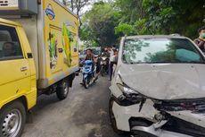 Kecelakaan Beruntun di Tanah Kusir, Diduga karena Sopir Mabuk