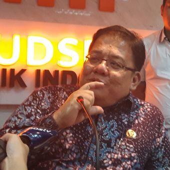 Komisioner Ombudsman RI, Adrianus Meliala, di Gedung Ombudsman, Kuningan, Jakarta Selatan, Kamis (6/12/2018)