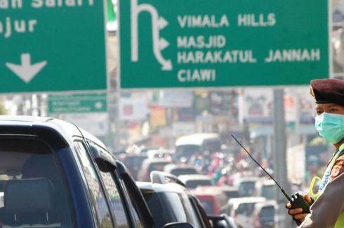 Polisi: Arus di Tol Jagorawi Lancar, Padat di Pintu Keluar