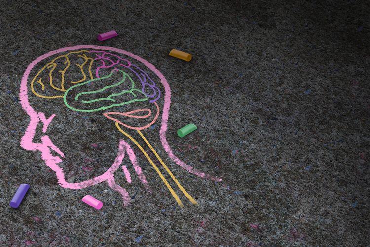 Ilustrasi autisme