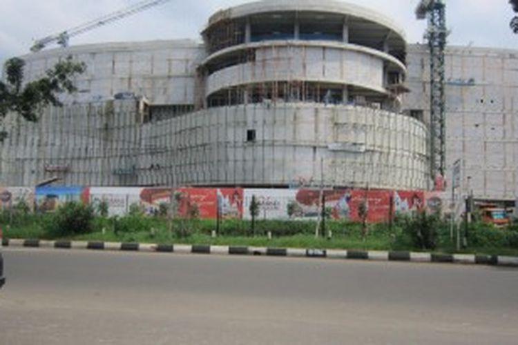 Sebanyak 20 pusat belanja akan memenuhi ruang kota Bekasi.