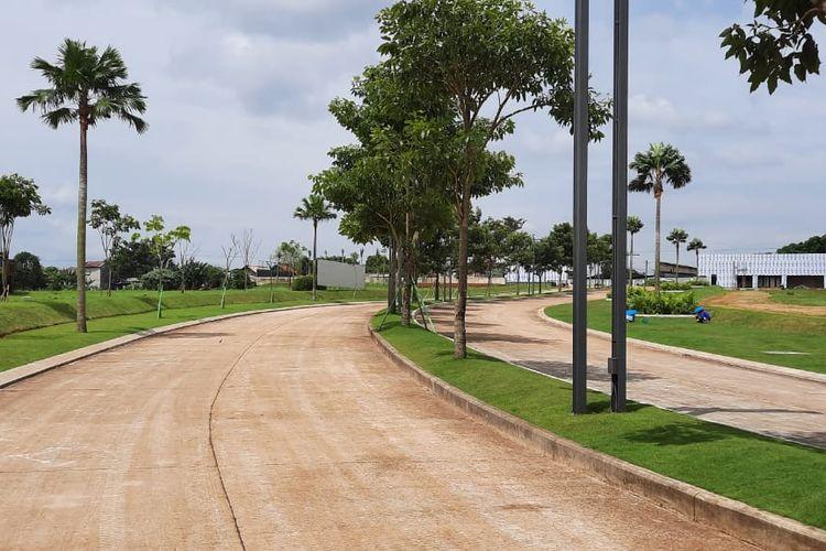 Infrastruktur jalan lingkungan Grand Duta City