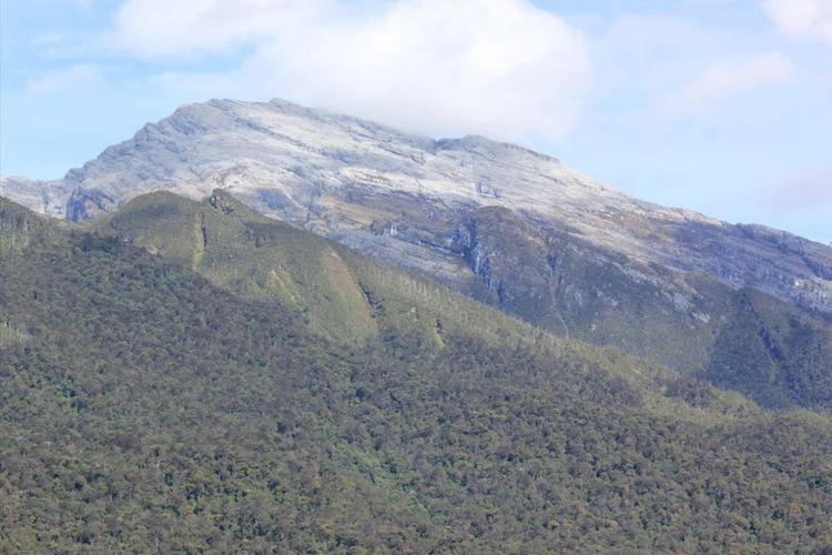 (Ilustrasi) Kondisi pegunungan di Kabupaten Pegunungan Bintang, Papua