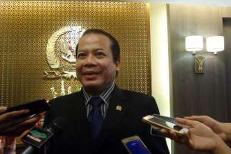Wakil Ketua DPR RI Taufik Kurniawan di Kompleks Parlemen, Senayan, Jakarta, Selasa (30/8/2016)