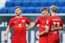 Hasil Bundesliga, Kalahkan Hoffenheim, RB Leipzig Bayangi Dortmund
