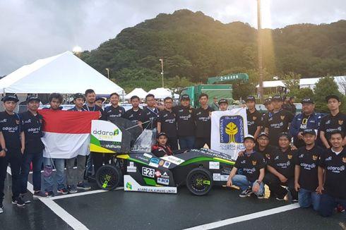 Mobil Listrik Mahasiswa Indonesia Dipuji di Jepang