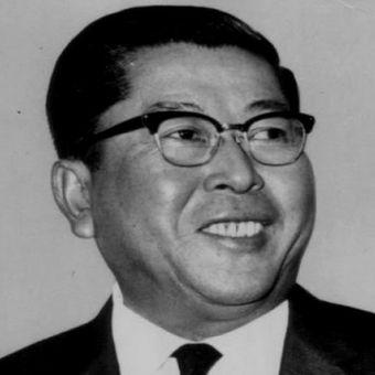 Wakil Perdana Menteri Thailand Thanat Khoman (1914 - 2016).