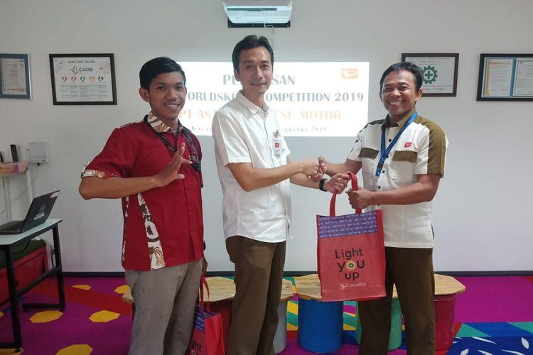Dua wakil Daihatsu Indonesia turun di ajang World Skill Competition 2019