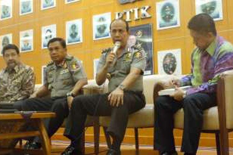 Tim independen Polri memaparkan kinerja mereka untuk mencari kebenaran cerita Freddy Budiman. Jumpa pers dilakukan di Perguruan Tinggi Ilmu Kepolisian, Jakarta, Kamis (11/8/2016).