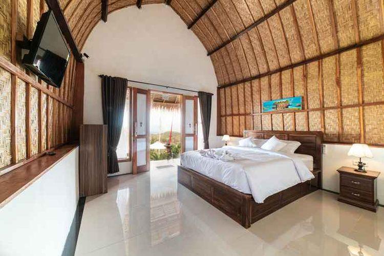 Penginapan Ramp Cottage di Nusa Penida, Bali.