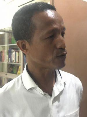 Peneliti Forum Masyarakat Peduli Parlemen Indonesia (Formappi) Lucius Karus di kantor Formappi, Jakarta Timur, Kamis (31/1/2019).