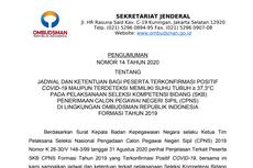 SKB CPNS Ombudsman Disebut Bisa Jadi Klaster Baru Covid-19, Benarkah?