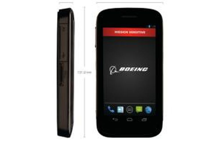 Ponsel pintar Android Boeing Black