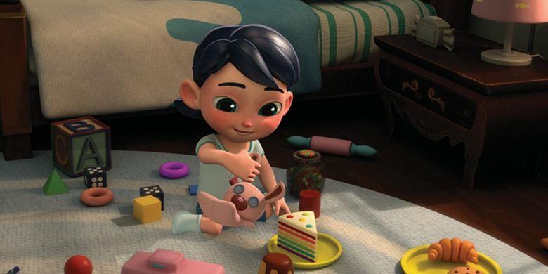 Cuplikan film animasi Candy Monster karya UMN Pictures