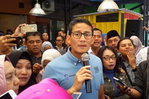Tiga Pesan Prabowo yang Disampaikan Sandiaga Uno di Malang