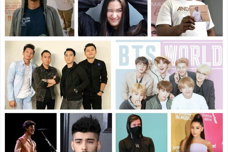 Lagu Lagu Paling Hits Dan Viral Sepanjang 2019 Apa Sajakah Halaman All Kompas Com