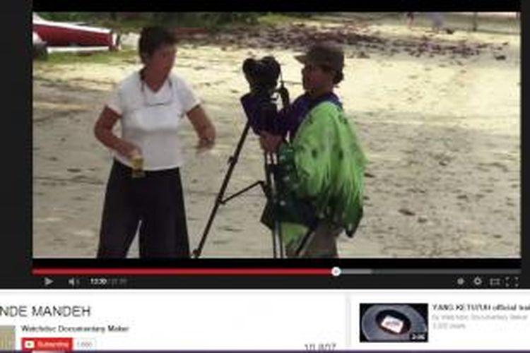 video masyarakat yang diusir bule di Pulau Cubadak