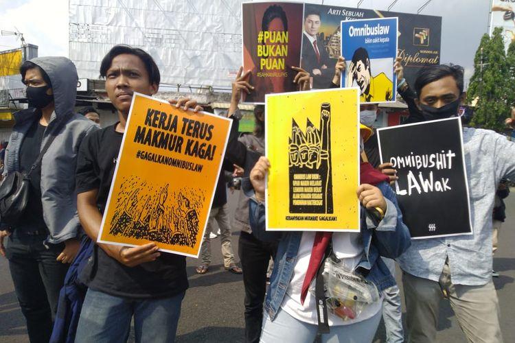 Aksi demonstrasi mahasiswa Jember mendesak RUU PKS segera masuk Prolegnas