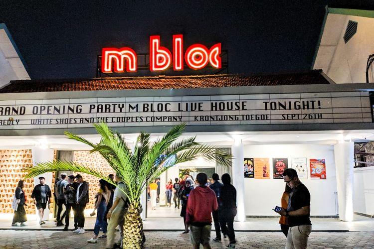 M Bloc Space, sebuah ruang kreatif baru bagi muda-mudi Jakarta yang baru diresmikan 26 September 2019.