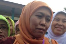 Khofifah Naik Helikopter Kampanye Jokowi-JK di Magelang
