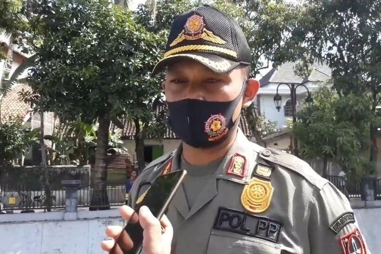 Sekretaris Satpol PP Kota Solo, Didik Anggono.