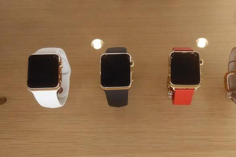 Apple Watch Edition di etalase iBox Flagship Store, Mall Kota Kasablanka, Jakarta