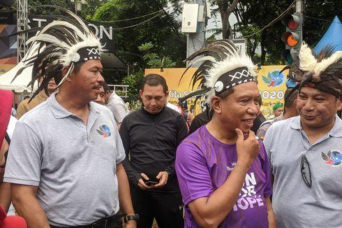 Polda Metro Jaya-Kemenpora Promosikan PON XX Papua dan Anti-narkoba Saat CFD