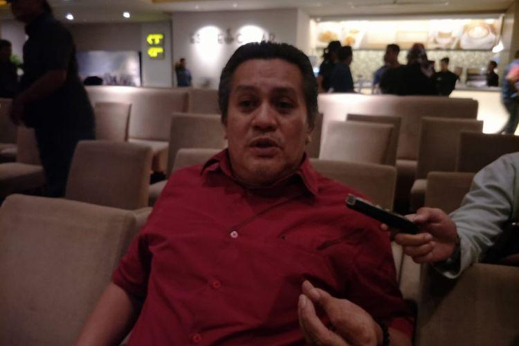 Gusti Randa saat ditemui di XXI Plaza Indonesia,Jakarta Pusat, Selasa (19/11/2019).